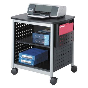 Safco Scoot Printer Stand in Black