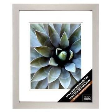 Grey Gallery Wall Frame with Double Mat by Studio Decor