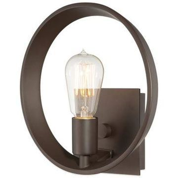 Quoizel Uptown Theater Row Wall Sconce in Western Bronze
