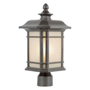 Trans Globe San Miguel - One Light Outdoor Post Lantern