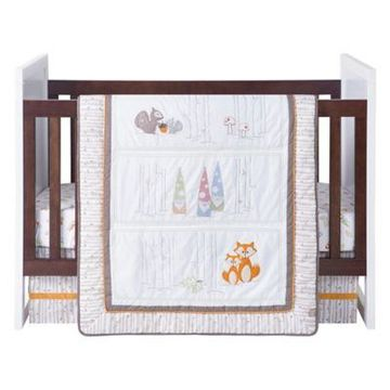 Trend Lab Gnome Boy 4-Piece Crib Bedding Set