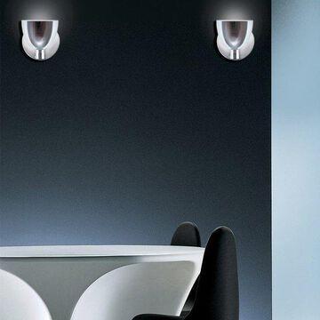 Jesco Lighting WS215-BU Lina 1 Light Wall Sconce With Glass Cone Shade