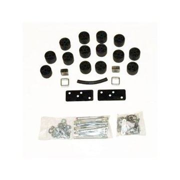 Daystar PA812 Body Lift Kit; 2 in. Lift; Incl. Steering Extension; Front Bumper Brackets; Blocks; Extension Brackets; All Required Hardware;