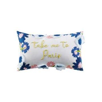 """Jla Home Take Me to Paris 14"""" x 20"""" Decorative Pillow"""