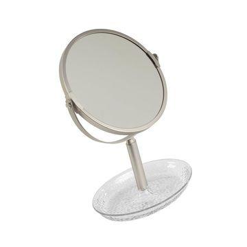 InterDesign Rain Free Standing Vanity Makeup Mirror for Bathroo... Free Shipping