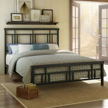 Amisco Cottage Metal Bed