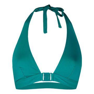 Boum triangle-halterneck bikini top
