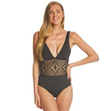 L-Space Domino Samantha One Piece Swimsuit