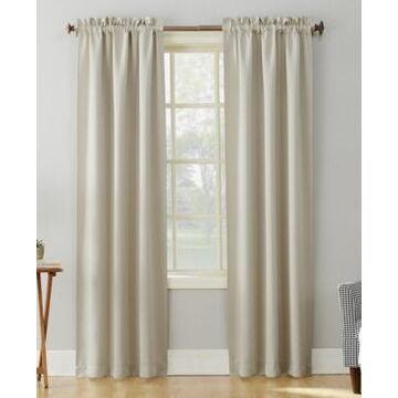 "Sun Zero Preston 40"" x 63"" Rod-Pocket Blackout Curtain Panel"