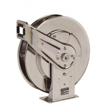 7800 OMS 0.5 in. x 50 ft. Stainless Steel 3000 PSI Oil without Hose Reel