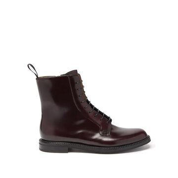 Church's - Alexandra Leather Boots - Womens - Burgundy