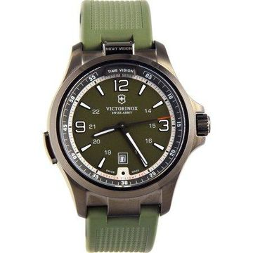 Night Vision Olive Green Dial Mens Watch 241595