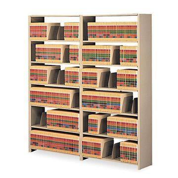 Tennsco Snap-Together 6- Shelf Open Shelving Unit