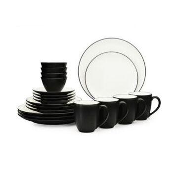 Noritake Colorwave 20-Pc. Coupe Dinnerware Set, Service for 4