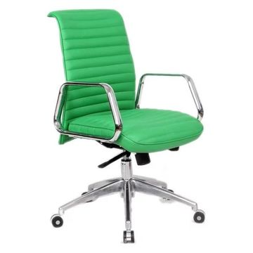 Fine Mod Imports Ox Office Chair With Mid Back, Green