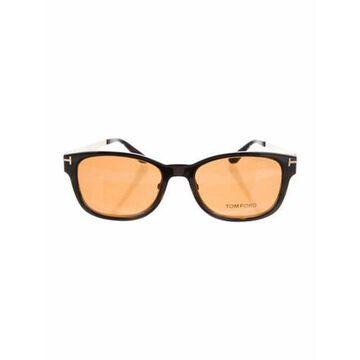 Shield Mirrored Sunglasses Black