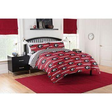Georgia Bulldogs 5-Piece Full Bed in a Bag Comforter Set Multi