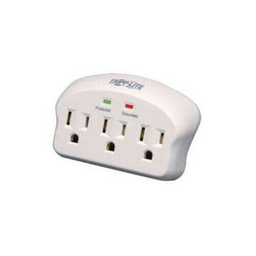 TRIPP LITE SK3-0 3 OUTLET WALLMOUNT SURGE 660 JOULES 2 DIRECT PLUG IN W LED
