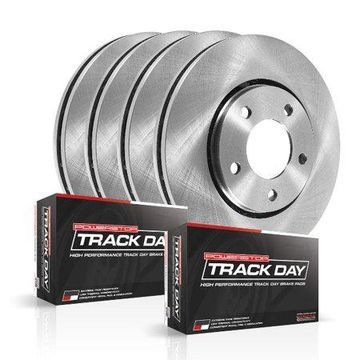 Power Stop TDBK4477 Track Day Brake Kit-Front & Rear