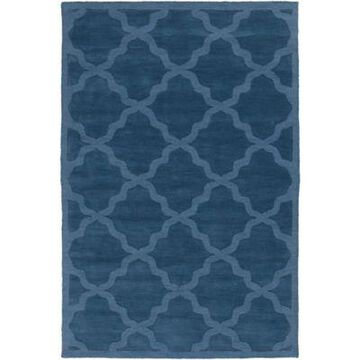 Artistic Weavers Central Park Abbey 9' x 12' Handcrafted Area Rug in Blue