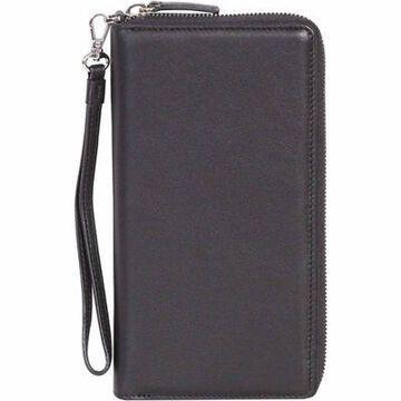 Scully Ladies' Genuine Leather Zip-Around Slim Clutch with Wrist Strap, 4005-11-24-F