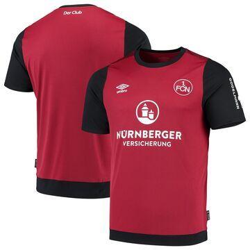 Men's Umbro Burgundy 1. FC Nurnberg 2019/20 Home Replica Jersey