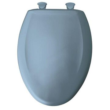 Bemis 1200SLOWT Elongated Closed-Front Toilet Seat and Lid with Whisper-Close,