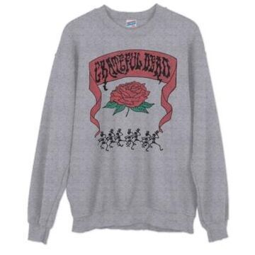 Junk Food Cotton Grateful Dead Sweatshirt