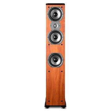 Polk Audio TSi400 4-Way Tower Speaker with Three 5-1/4