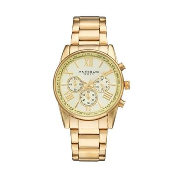 Akribos XXIV Men's Enterprise Chronograph Swiss Watch