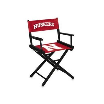NCAA University of Nebraska Table Height Director's Chair
