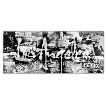 Ready2HangArt 'Vintage Los Angeles' Gallery-wrapped Canvas Art