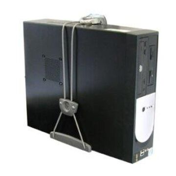 Ergotron 80-105-064 Ergotron 80-105-064 CPU Mount for CPU - 50 lb Load Capacity