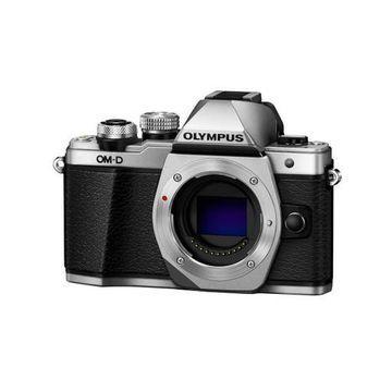 ''Olympus OM-D E-M10 Mark II Mirrorless Camera Body, Silver''