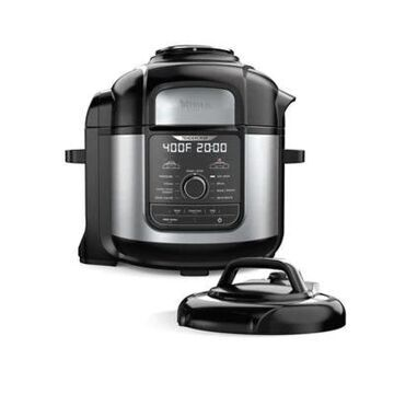 Ninja Foodi 8-Qt. 9-In-1 Deluxe XL Pressure Cooker & Air Fryer Stainless Steel