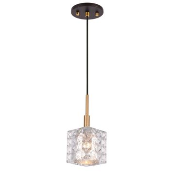 Woodbridge Lighting 2102CBZ-B Elise Pendant
