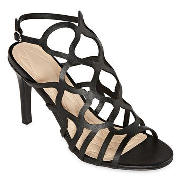 Bamboo Womens Blaze 06s Heeled Sandals