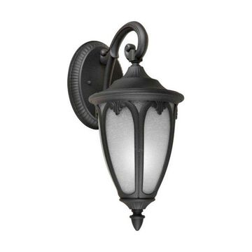 Forte Lighting 17049-01 1 Light Outdoor Wall Sconce
