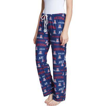 Concepts Sport Women's Arizona Wildcats Navy Fairway Sleep Pants