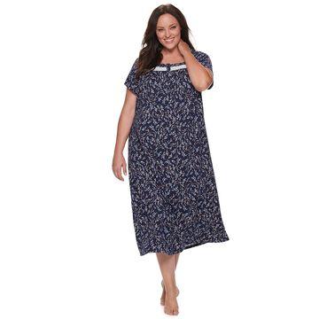 Plus Size Croft & Barrow Pintuck Nightgown
