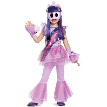 Disguise Twilight Sparkle Movie Deluxe Toddler/Child Costume-X-Small (3T-4T)