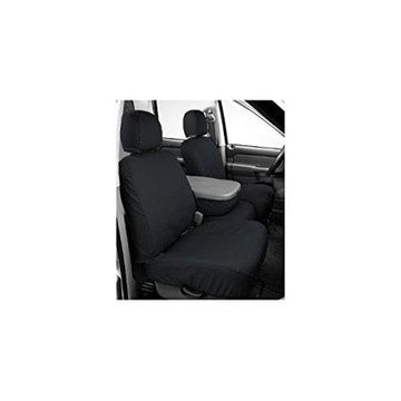 Covercraft SeatSaver Second Row Custom Fit Seat Cover for Select Jeep Wrangler Models - Polycotton (Charcoal)