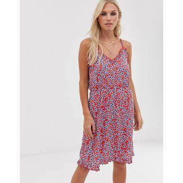 Vero Moda floral cami skater dress