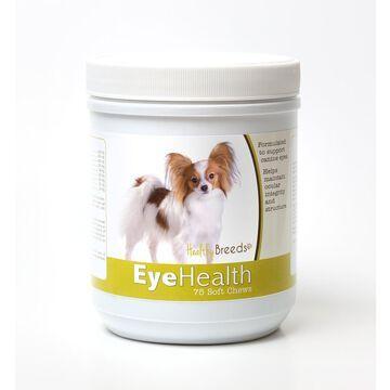 Healthy Breeds 840235145165 Papillon Eye Health Soft Chews - 75 Count