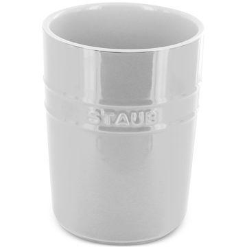 White Ceramic Utensil Holder