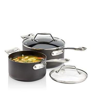 All-Clad Essentials Nonstick Sauce Pans Set
