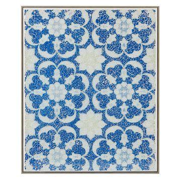 Harbor House Mosaic Tile Floral 16