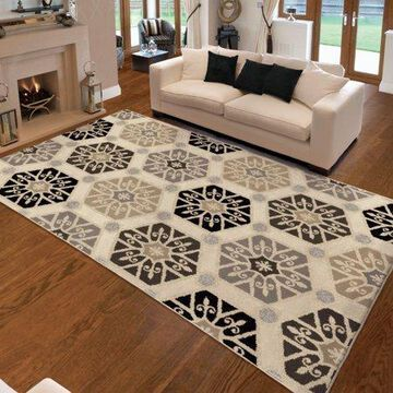 Orian Rugs Soft Medallions Capped Off Multi Area Rug