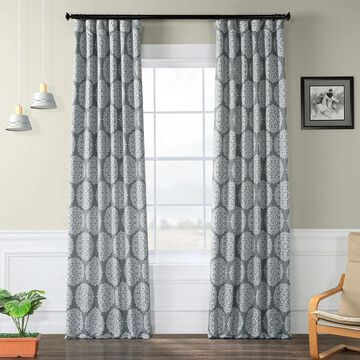 Exclusive Fabrics Meridian Blackout Curtain Panel Pair