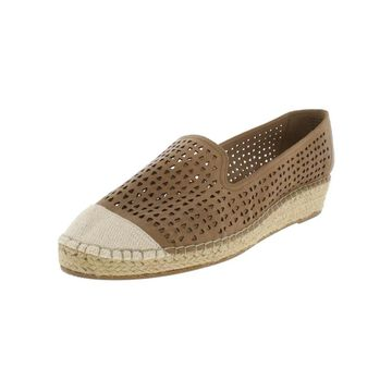 Bella Vita Womens Channing Espadrilles Leather Wedge